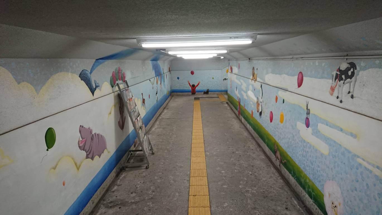 山陽電車尾上の松駅、高校生のデザイン