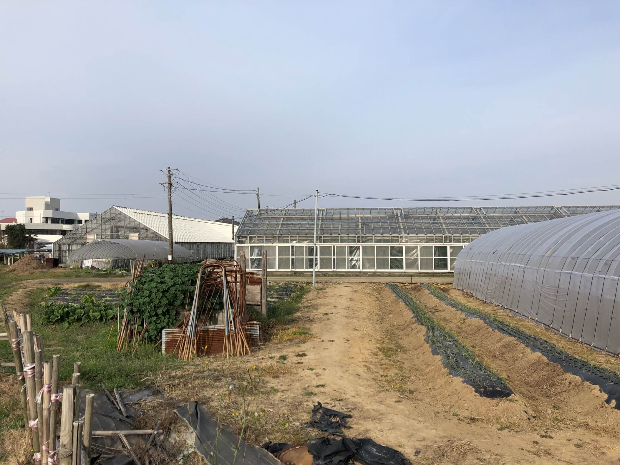 兵庫県立農業高等学校の裏側