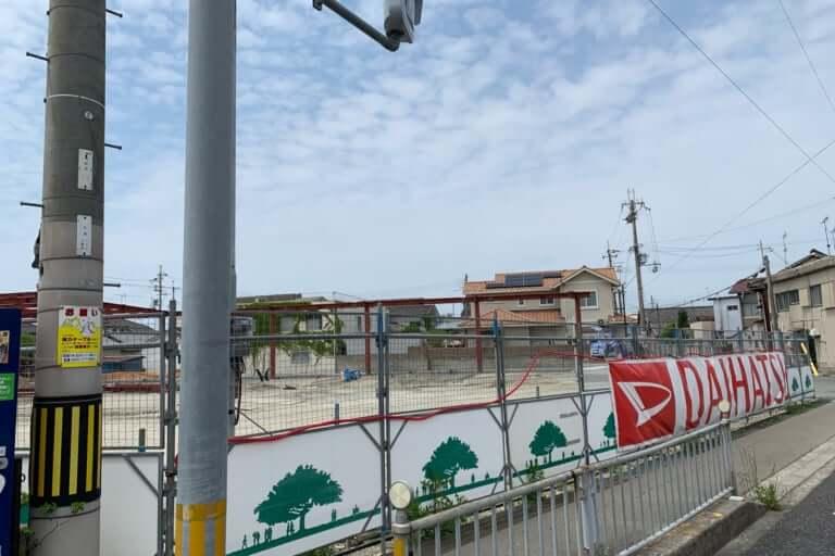 【加古川市】ミクちゃんガイア跡地の工事が進んでいます