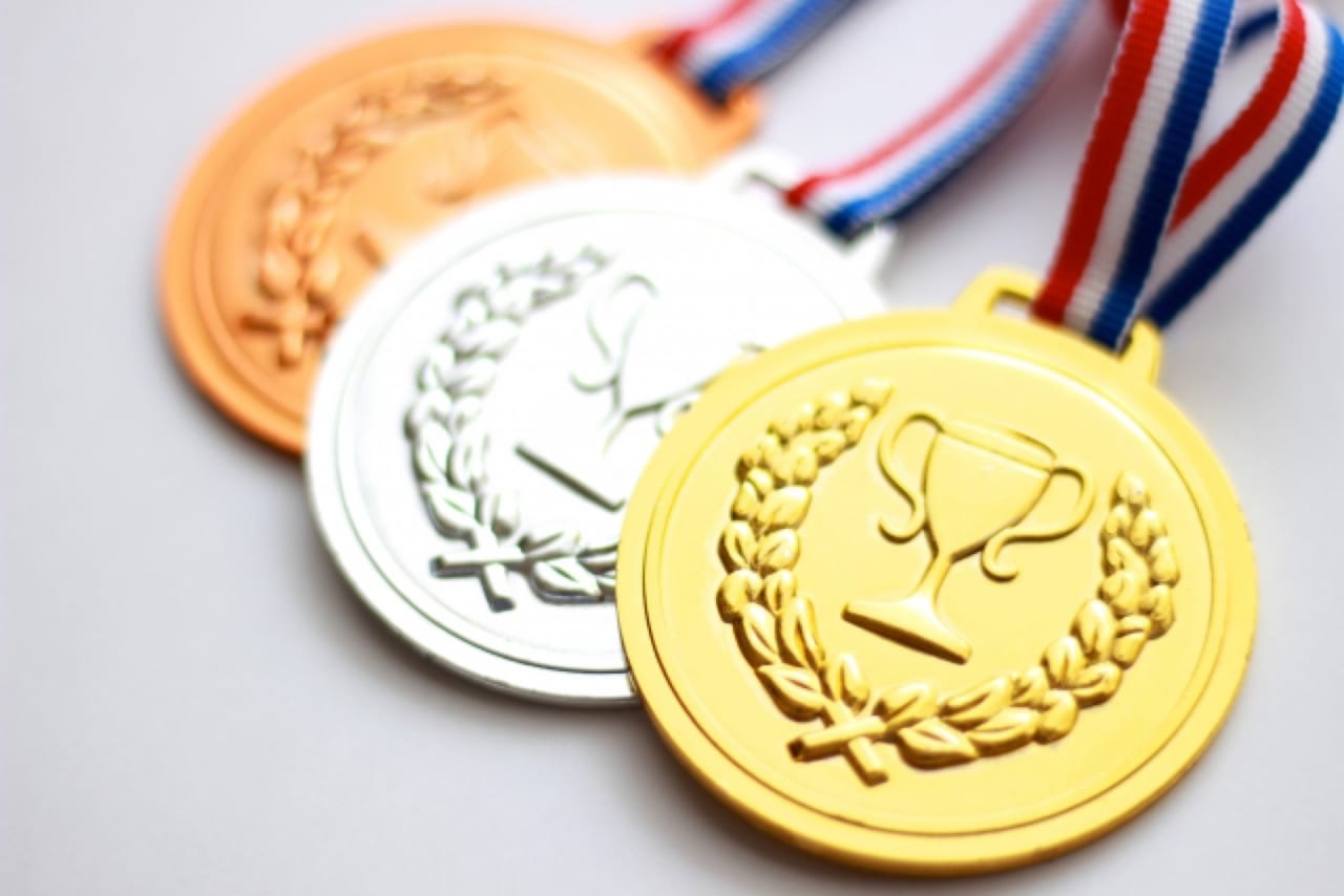 オリンピックメダルのイメージ