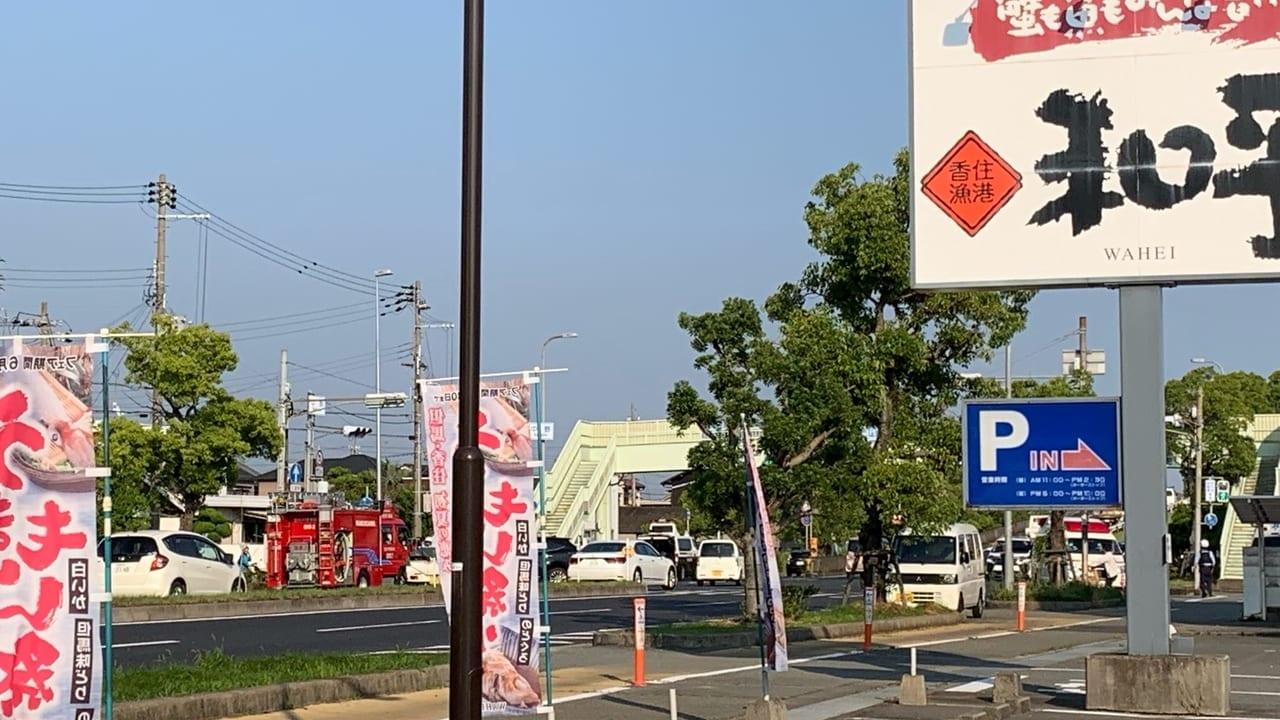 【加古川市】速報。2019年6月20日(木)夕方、明姫幹線東行きで事故発生